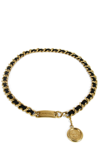 CHANEL Vintage Necklace Herz