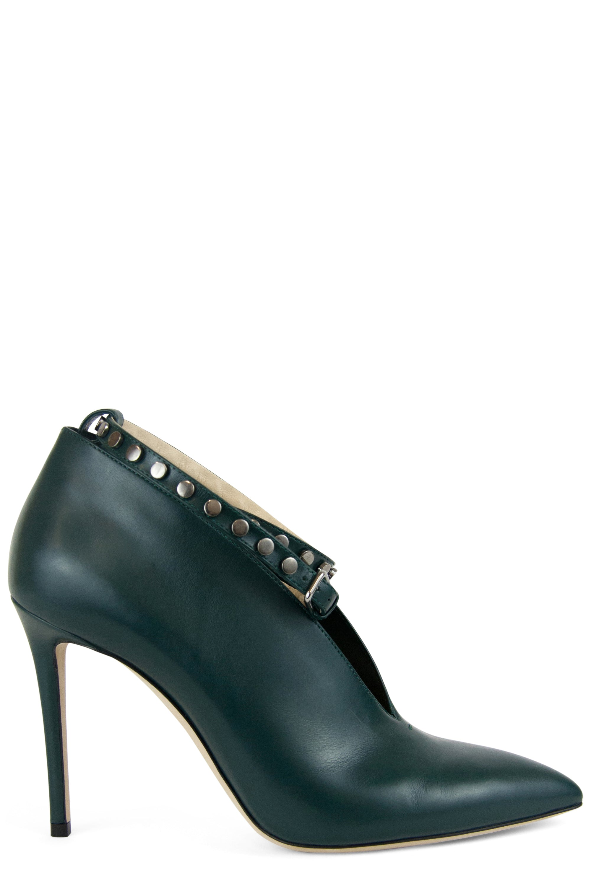 JIMMY CHOO Lark Ankle Strap Booties