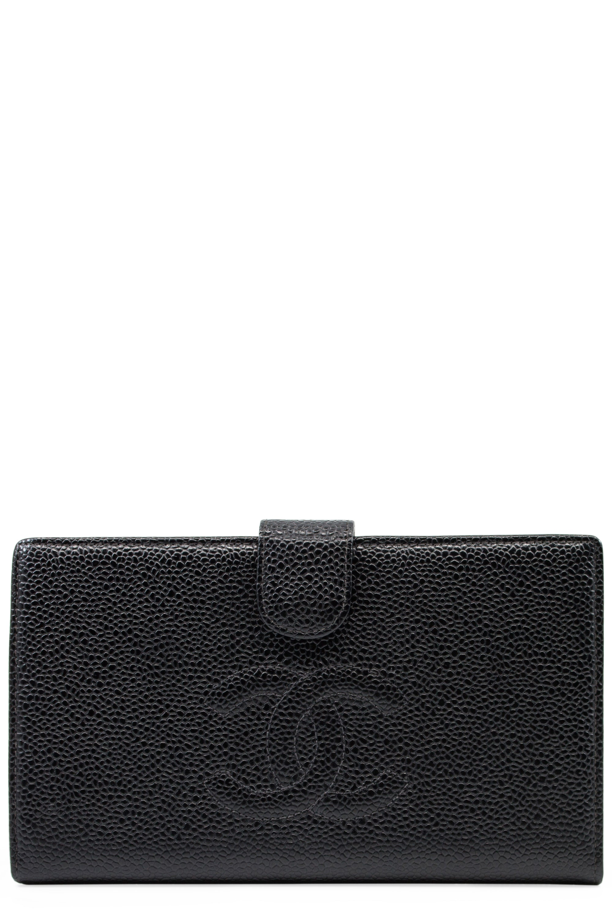 CHANEL Wallet Long Bifold Frontansicht