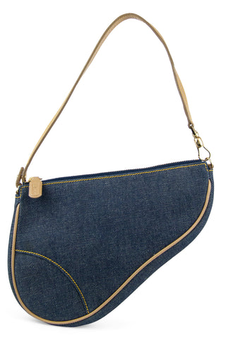CHRISTIAN DIOR Mini Saddle Bag Oblique