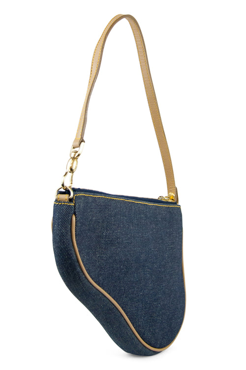 CHRISTIAN DIOR Saddle Denim Tasche