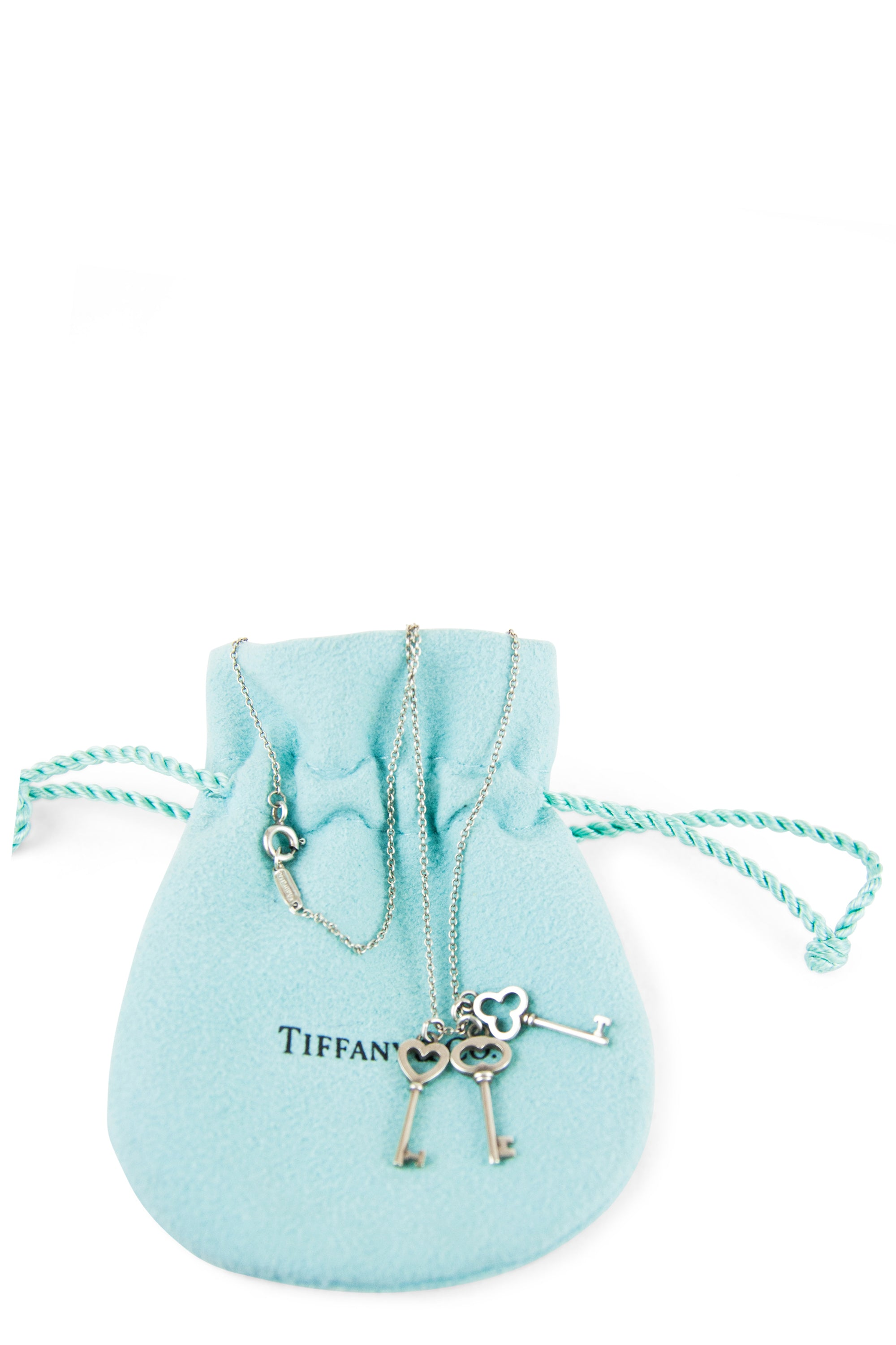 TIFFANY&CO.  3 Keys Halskette