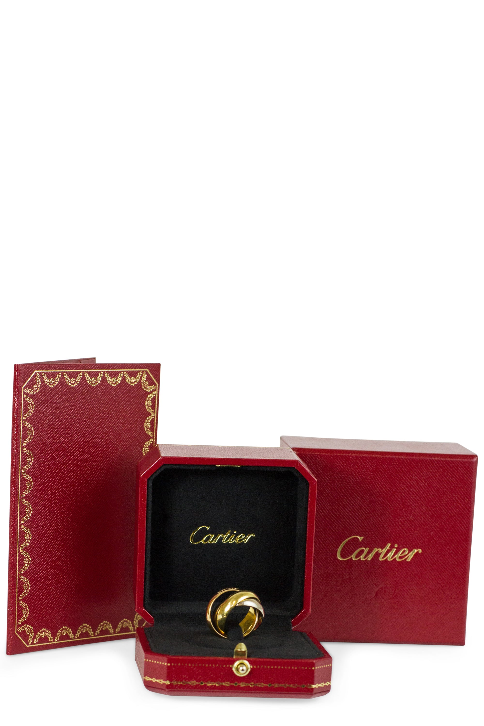 Cartier Trinity Ring LM Box Zertifikat