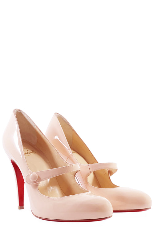 CHRISTIAN LOUBOUTIN Mary Jane Rose