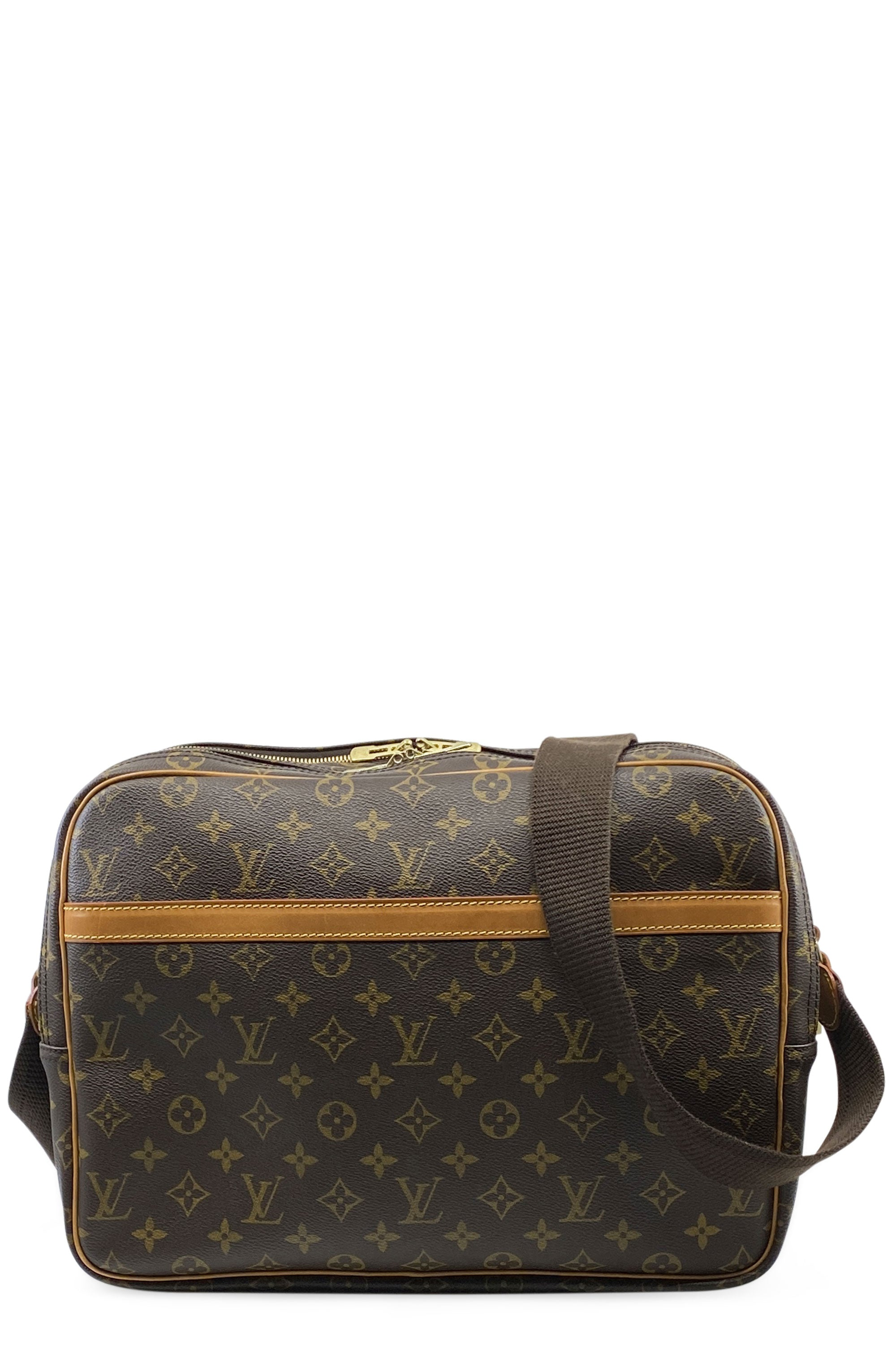 LOUIS VUITTON Reporter GM Mongram Canvas Frontansicht