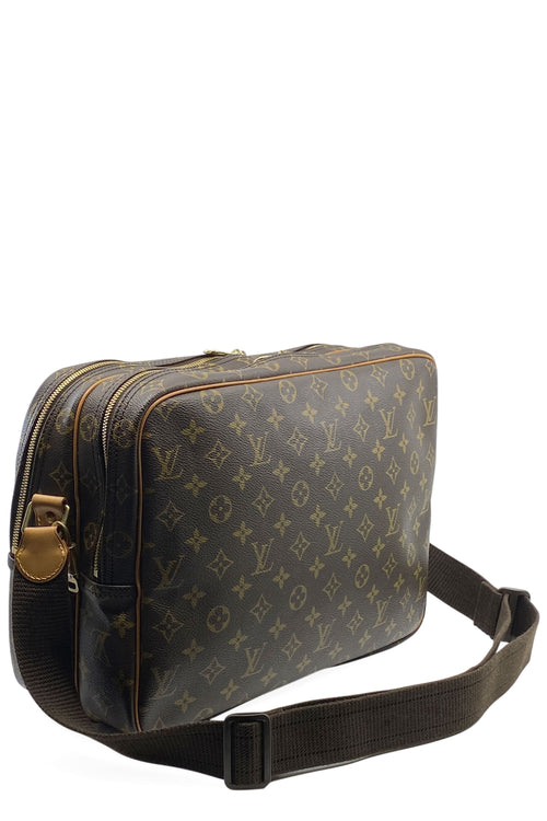 LOUIS VUITTON Reporter GM Mongram Canvas