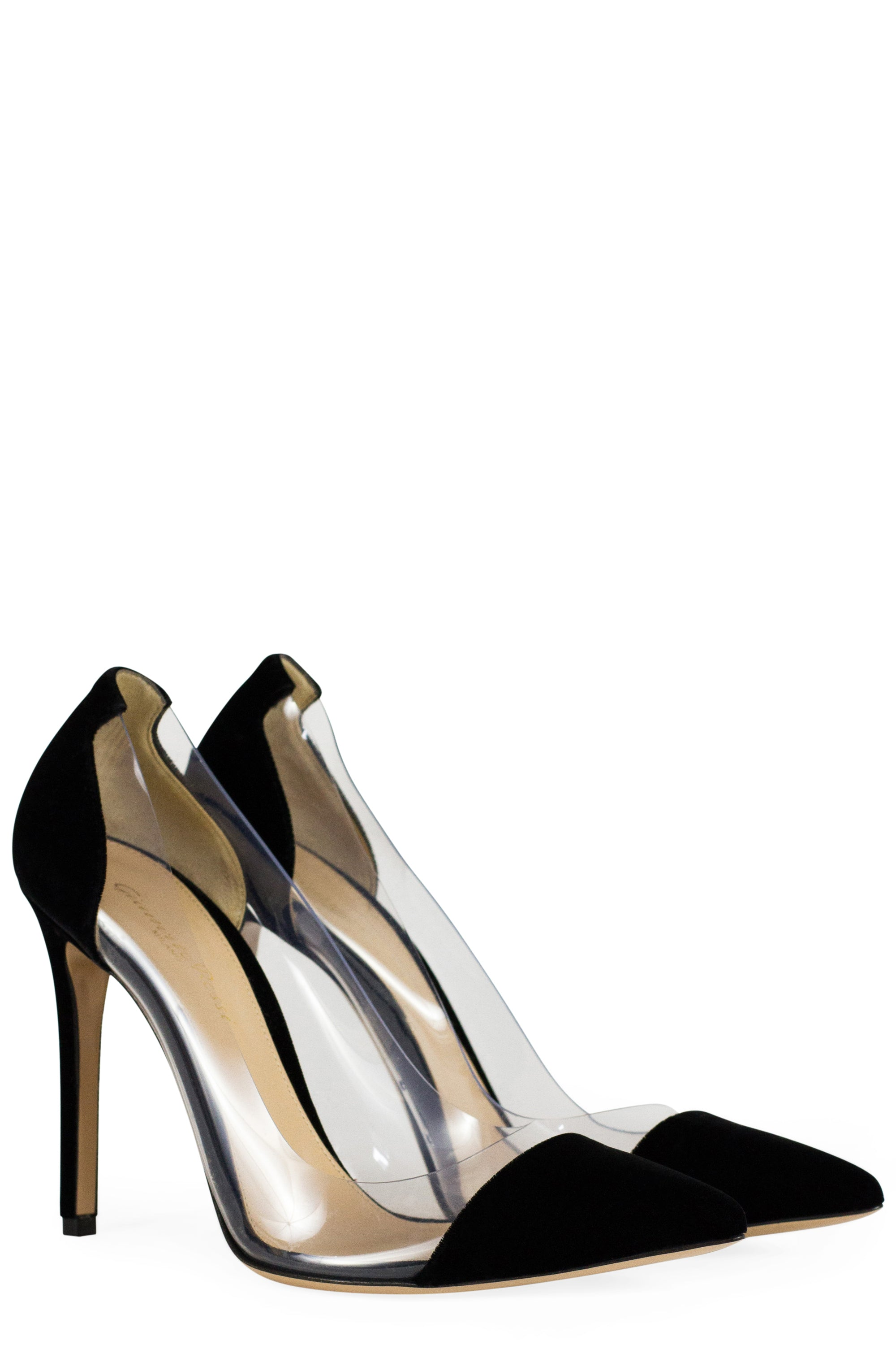 GIANVITO ROSSI Pumps Plexi