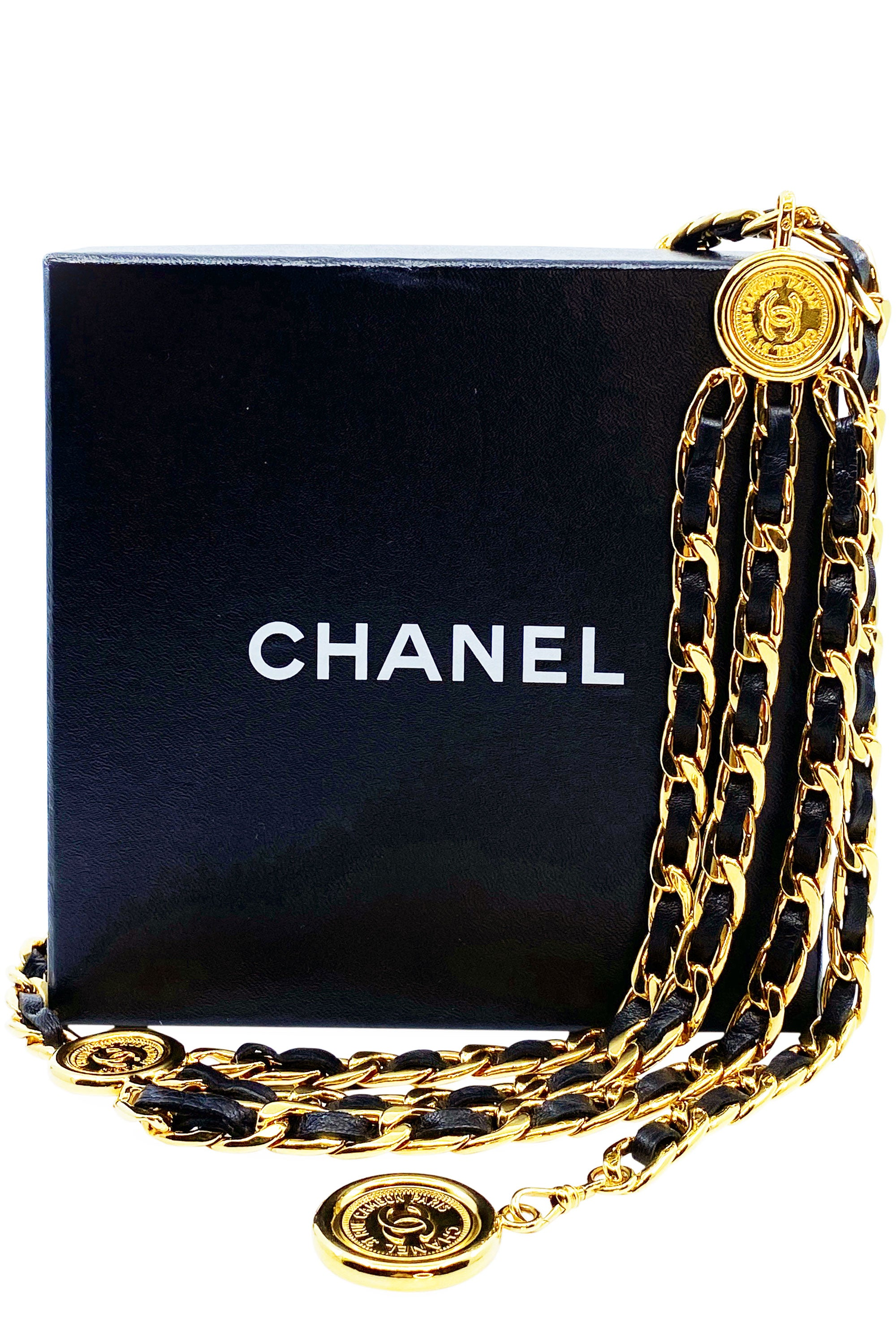 CHANEL Vintage Belt Chain