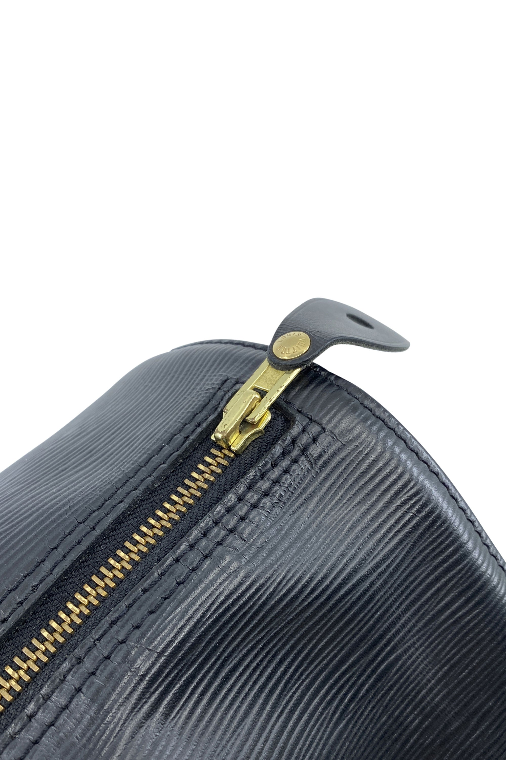 LOUIS VUITTON Speedy 30 Epi Black