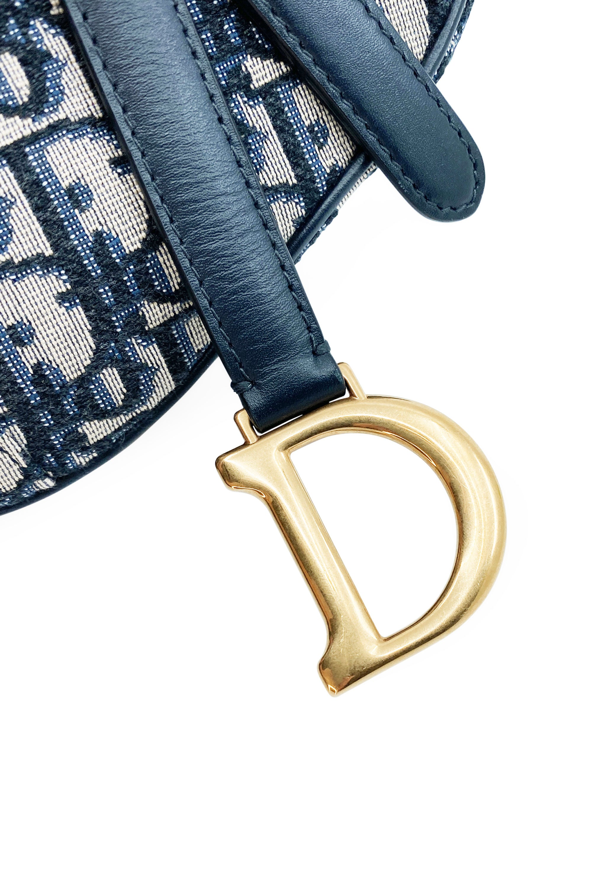 CHRISTIAN DIOR Saddle Bag Oblique Small