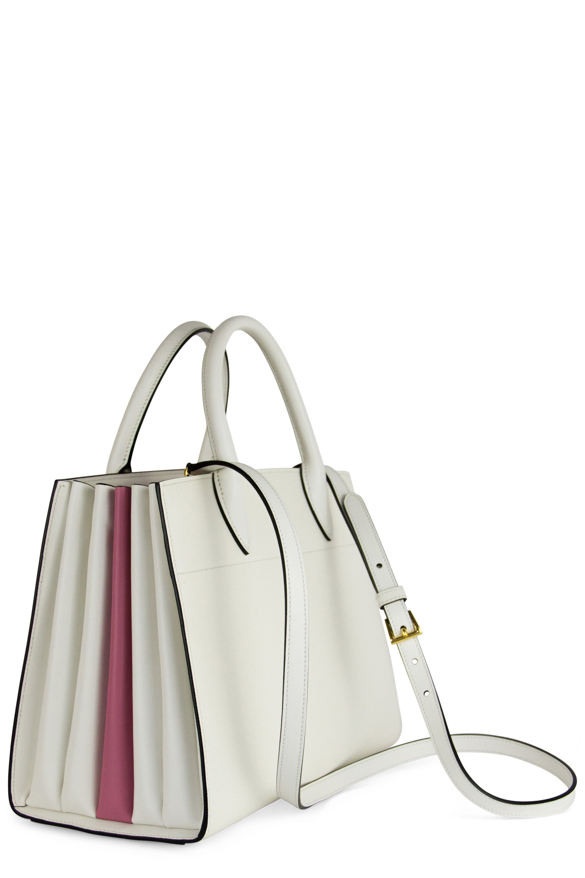 PRADA Saffiano City Bibliotheque Bag