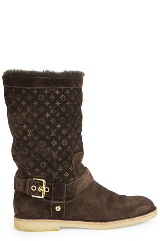 LOUIS VUITTON Wonderland Flach Ranger Boots