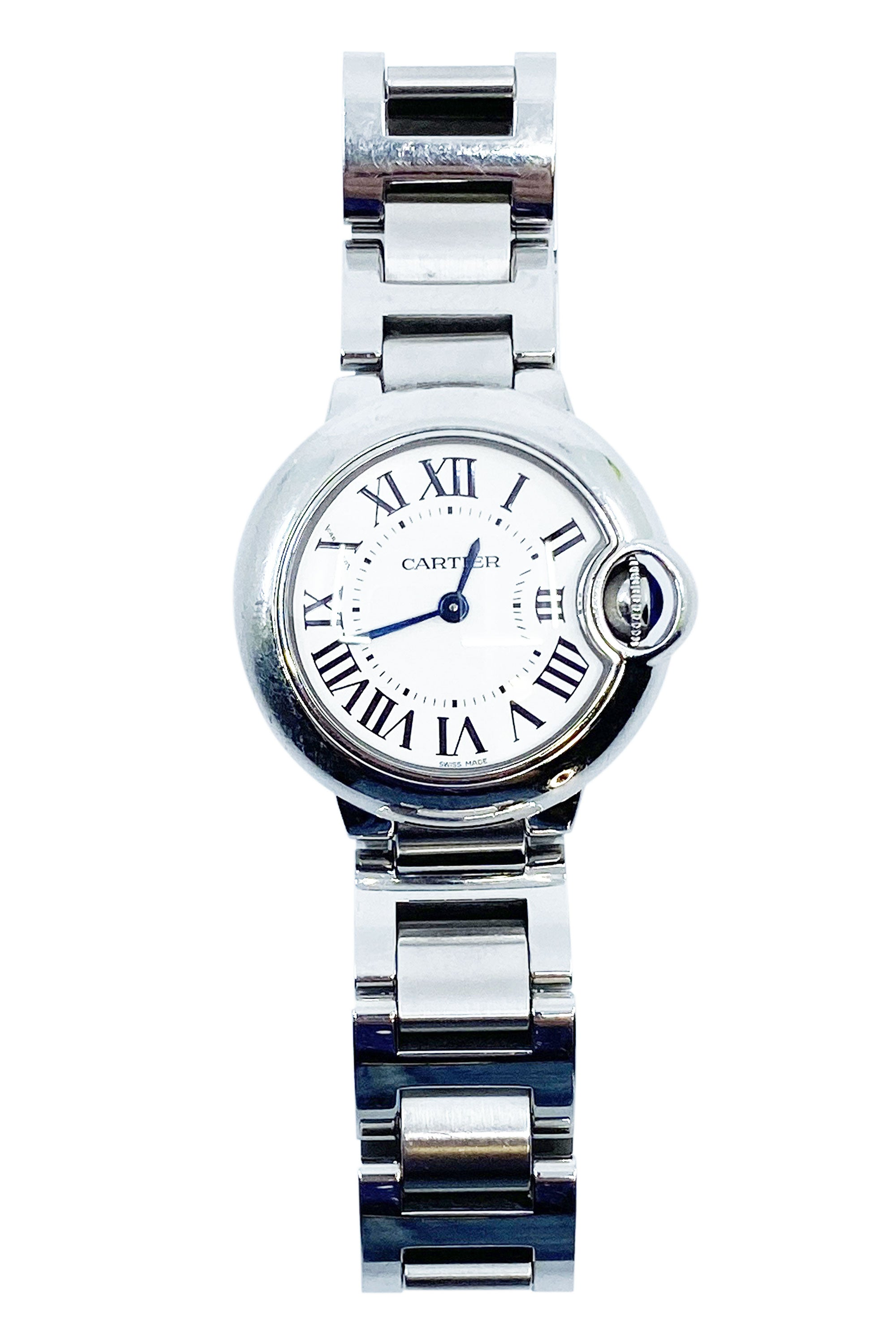 CARTIER Ballon Bleu Watch 28 mm Steel