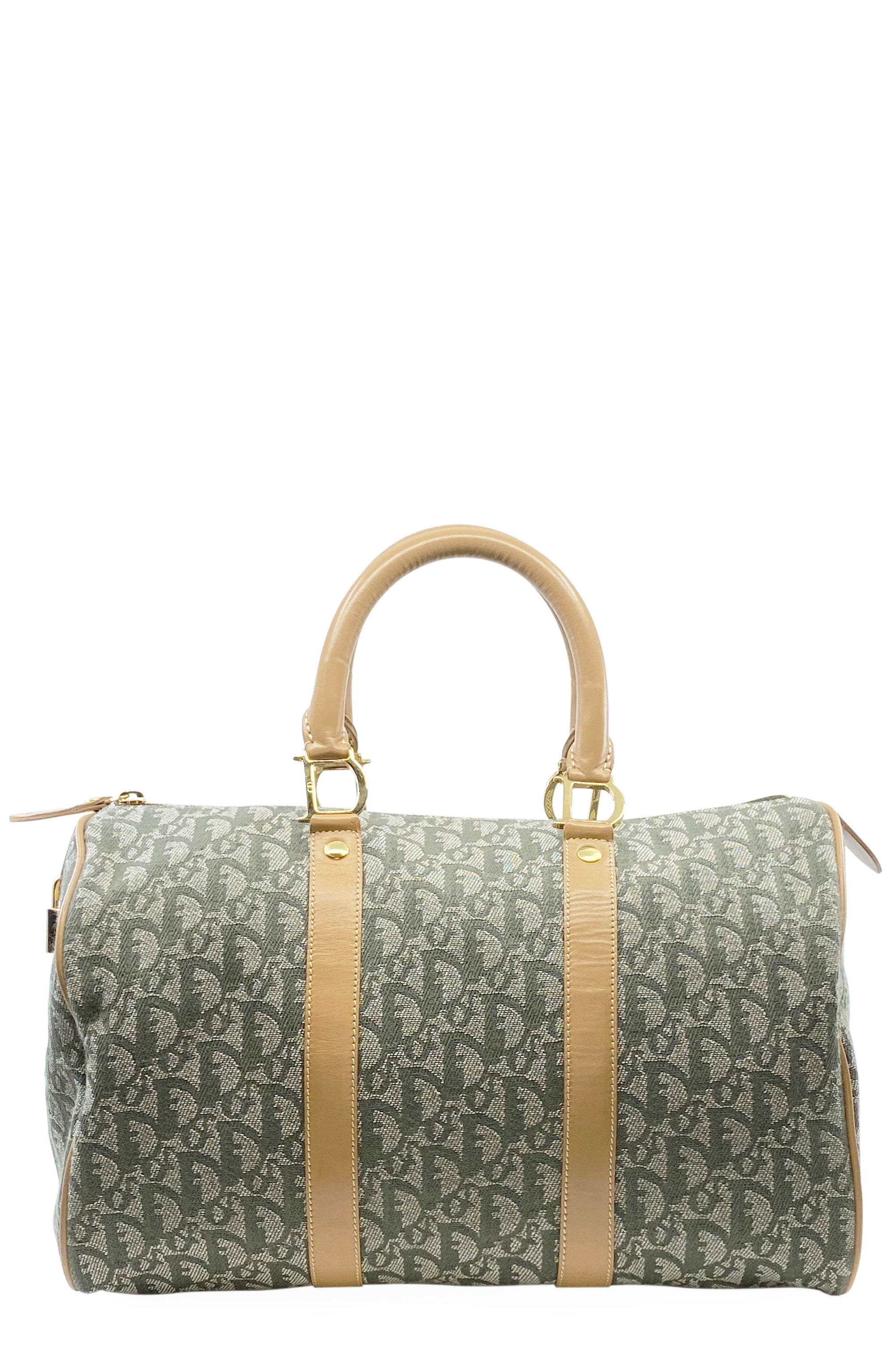 CHRISTIAN DIOR Boston Bag Green