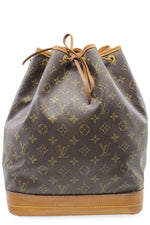 LOUIS VUITTON Grand Sac Noé Monogram Canvas Frontansicht