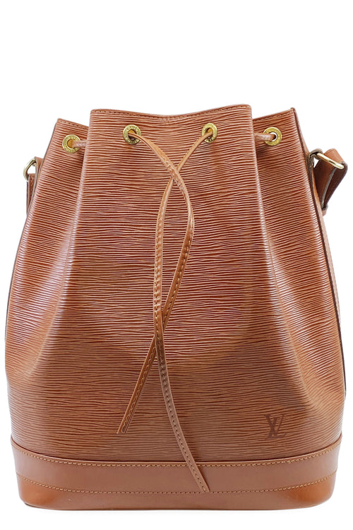 LOUIS VUITTON Grand Sac Noé Cognac Epi Frontansicht