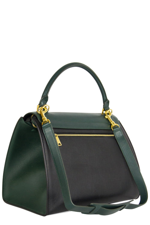 CELINE Trapeze Bag Green