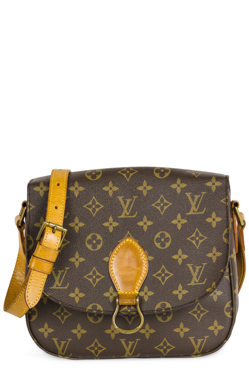 Louis Vuitton Saint Cloude MM Frontalansicht Monogram Canvas