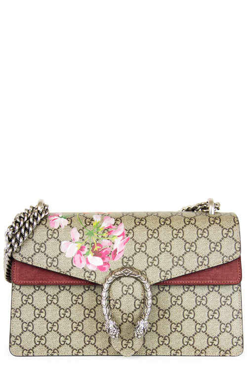Gucci Dionysus GG Blooms D Small Shoulder Bag Frontalansicht