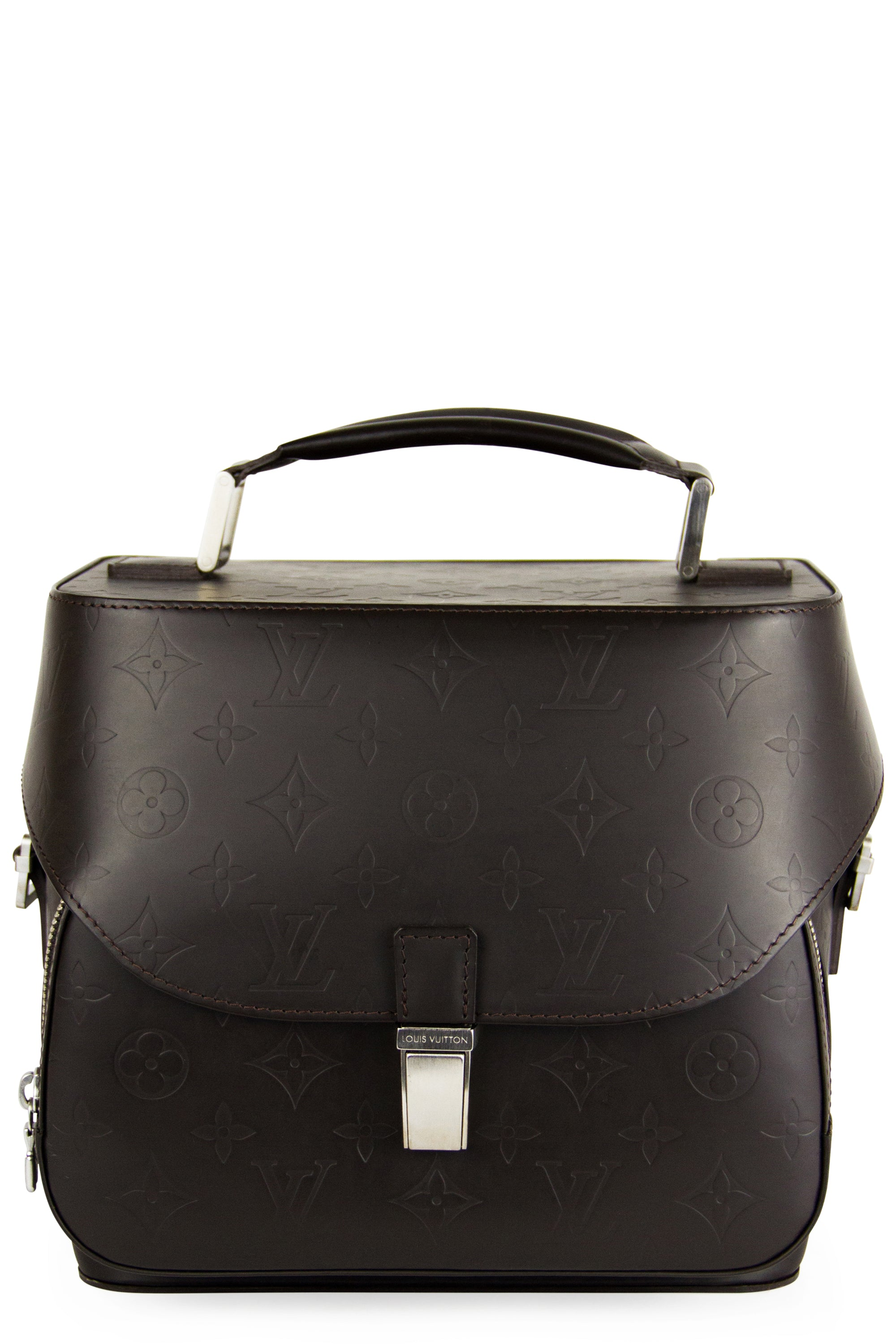 Louis Vuitton Grace Charlie Camera Bag Frontansicht Braun