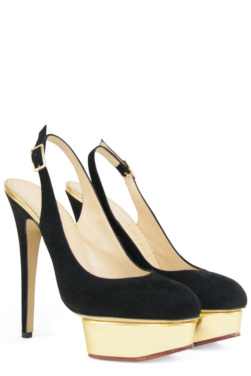 CHARLOTTE OLYMPIA Sling Back