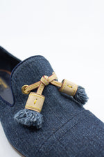LOUIS VUITTON Moccasin Denim