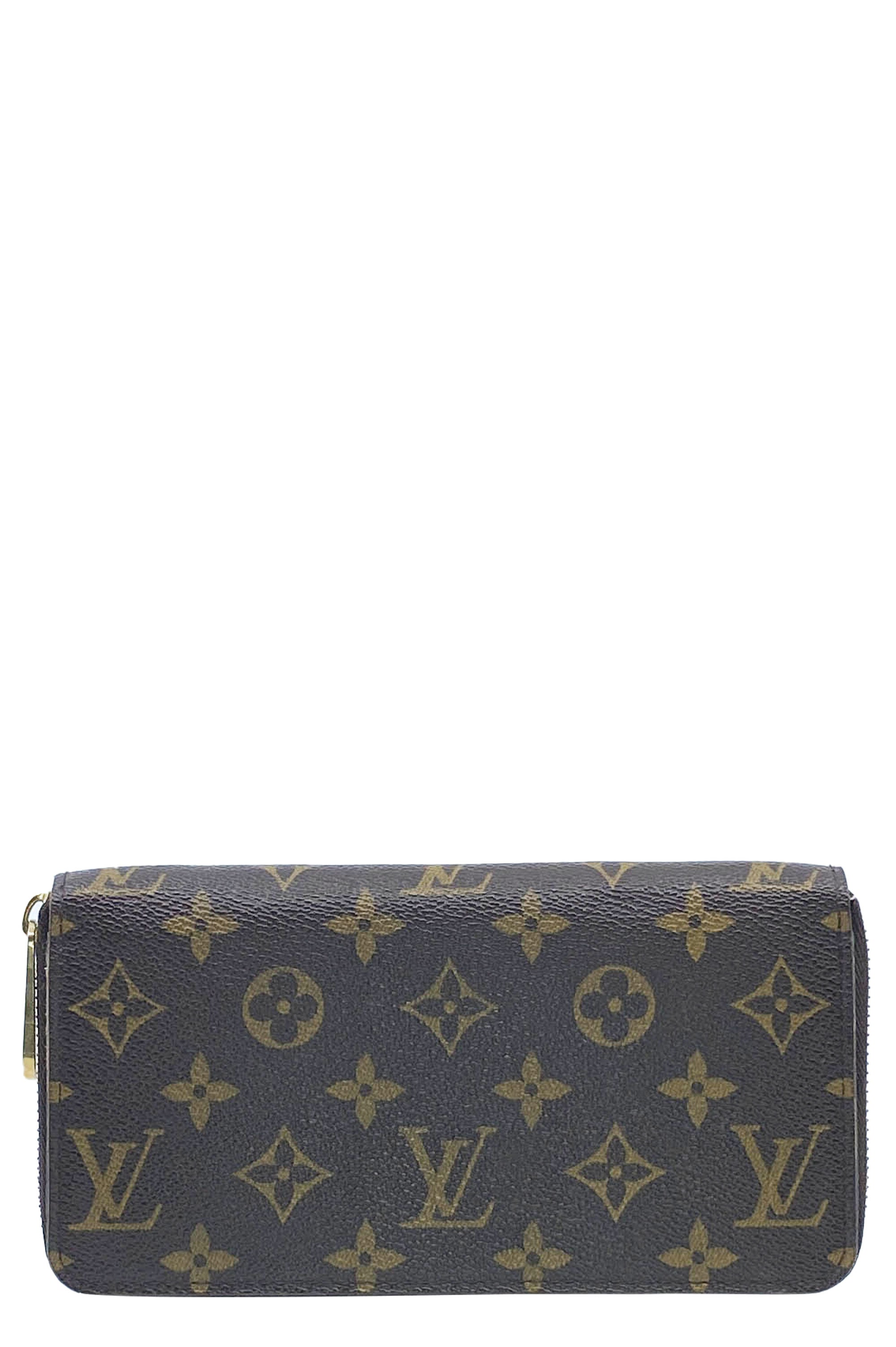 LOUIS VUITTON Zip Around Continental Monogram
