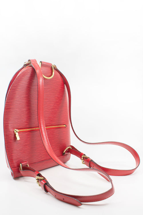 LOUIS VUITTON Mabillon Epi Leather Backpack