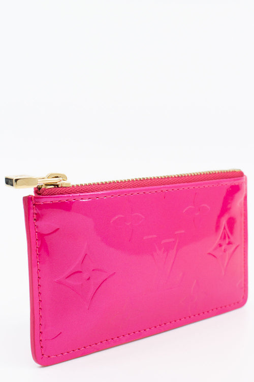 LOUIS VUITTON Key Case Pink