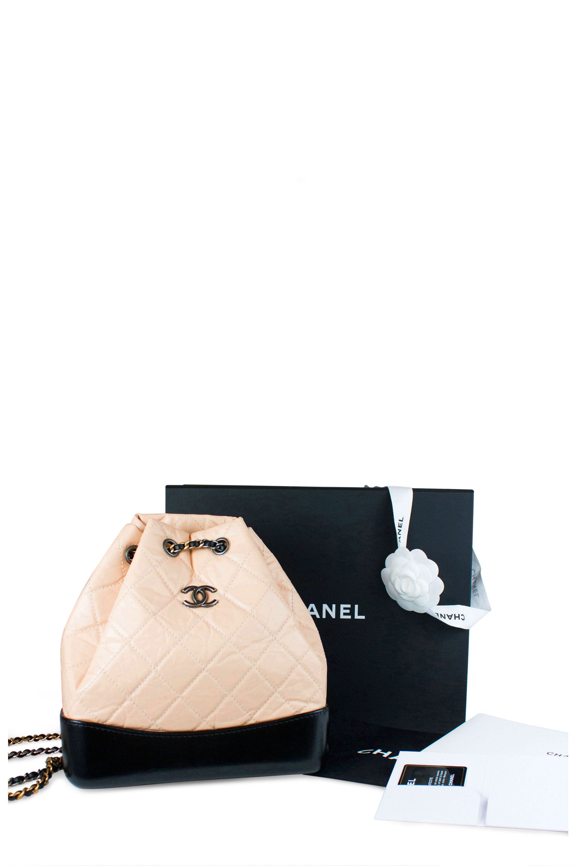 Chanel Gabrielle Backpack Small Full Set