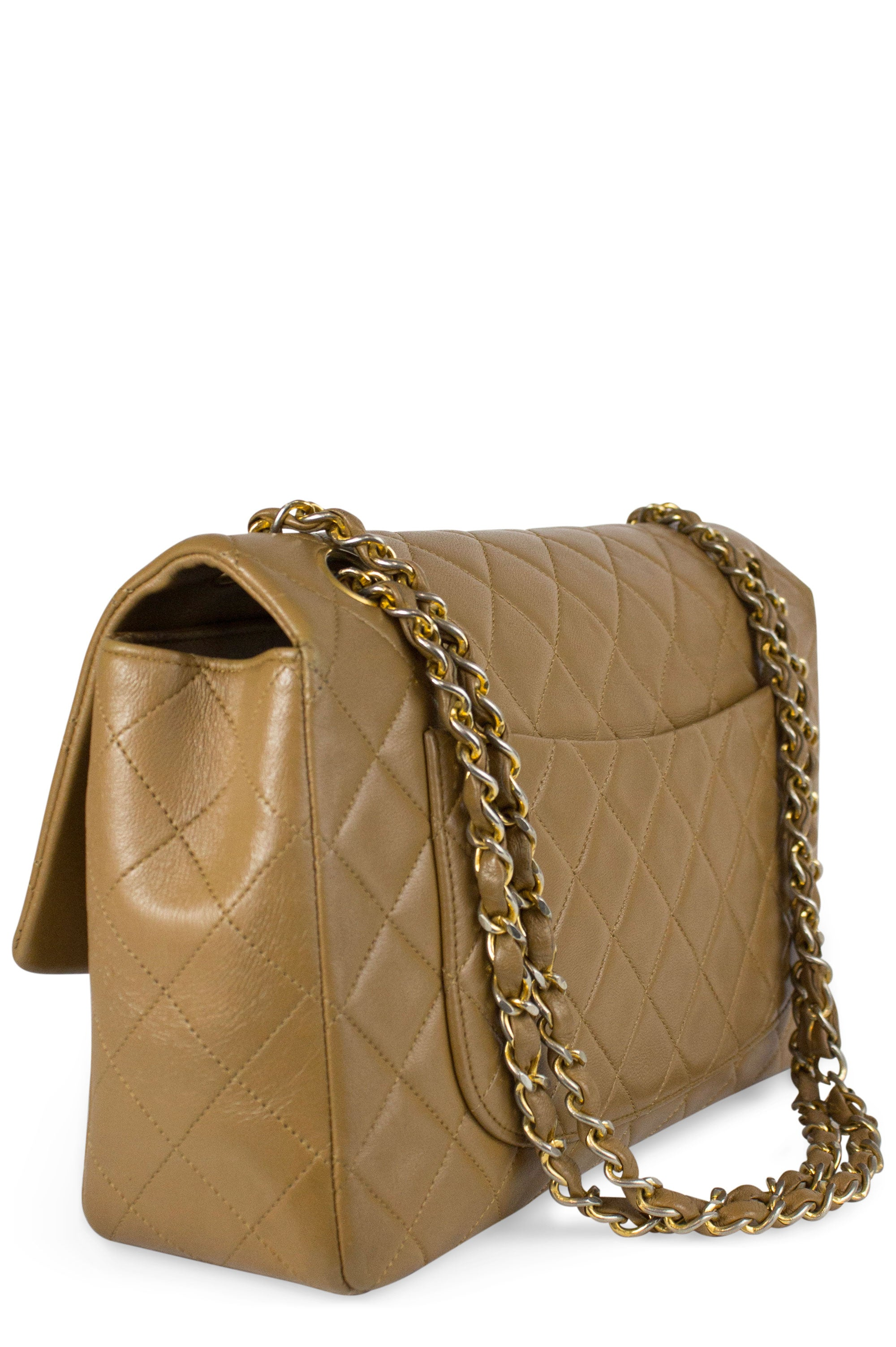 CHANEL Vintage One Flap Bag & Pochette