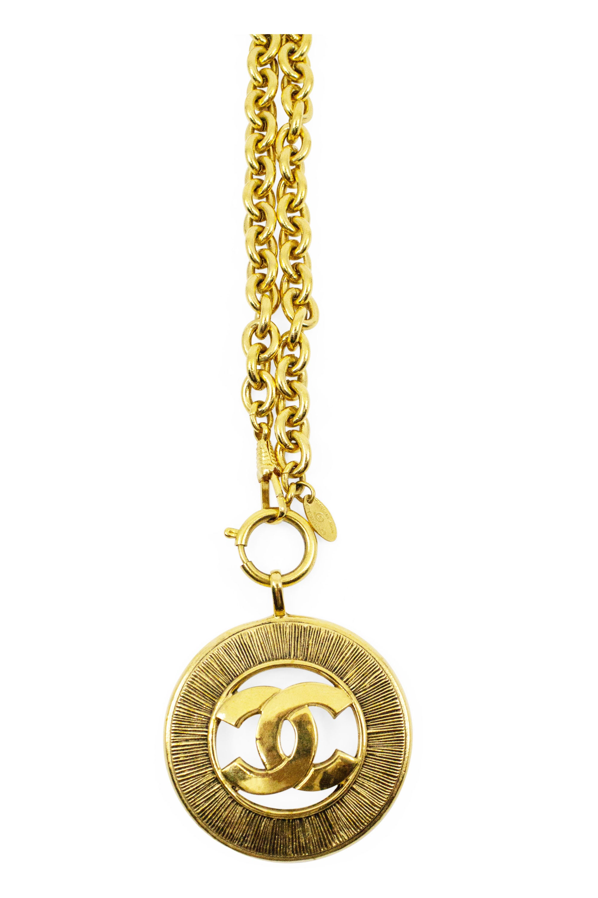 CHANEL Vintage CC Necklace