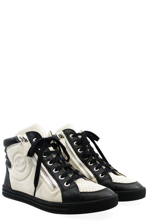 CHANEL Sneaker Black/White