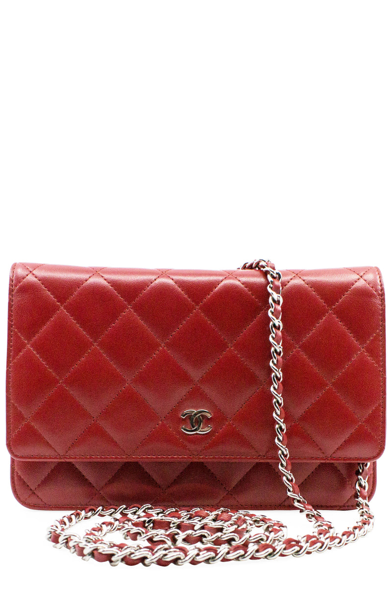 CHANEL WOC Red