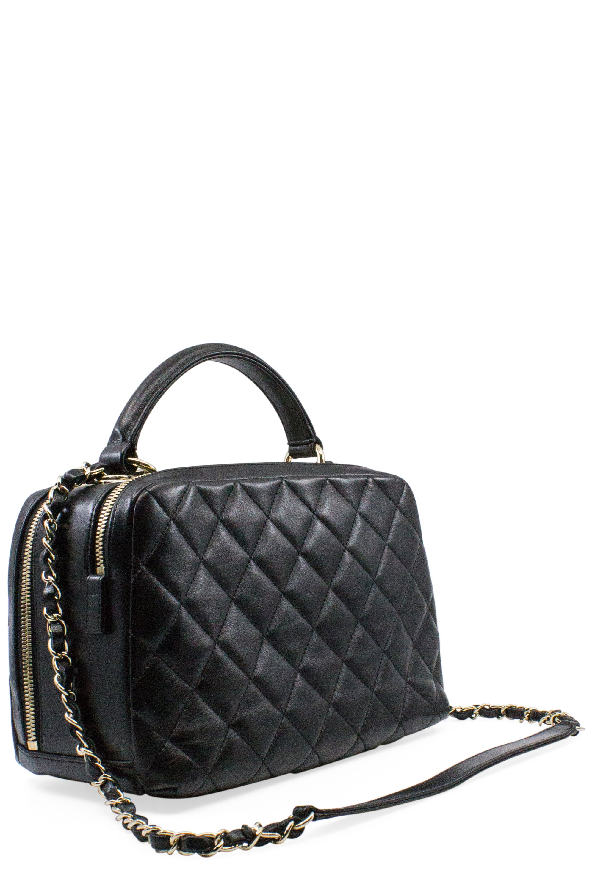 CHANEL Bowling Bag Black