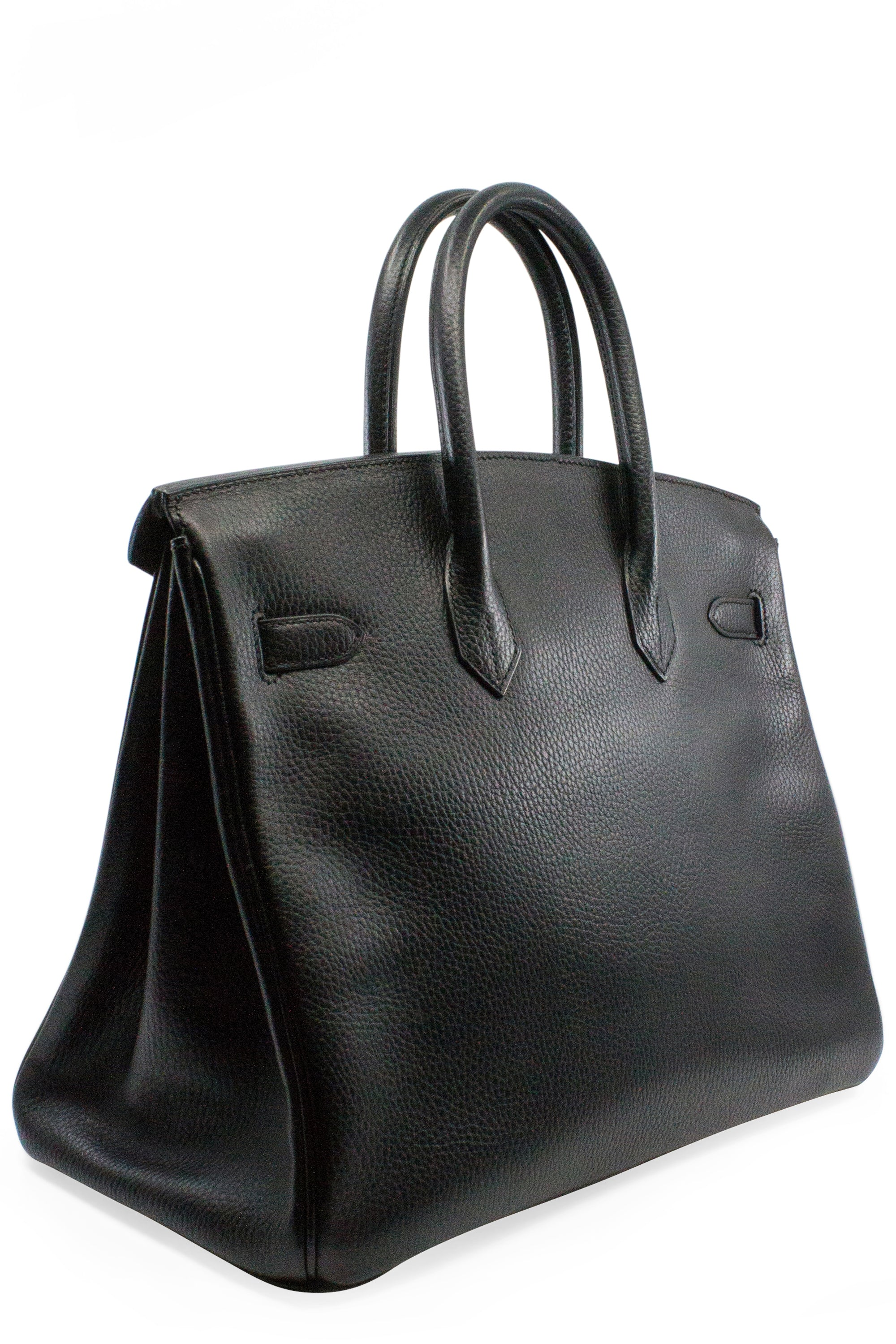HERMÈS Black Birkin Bag 35