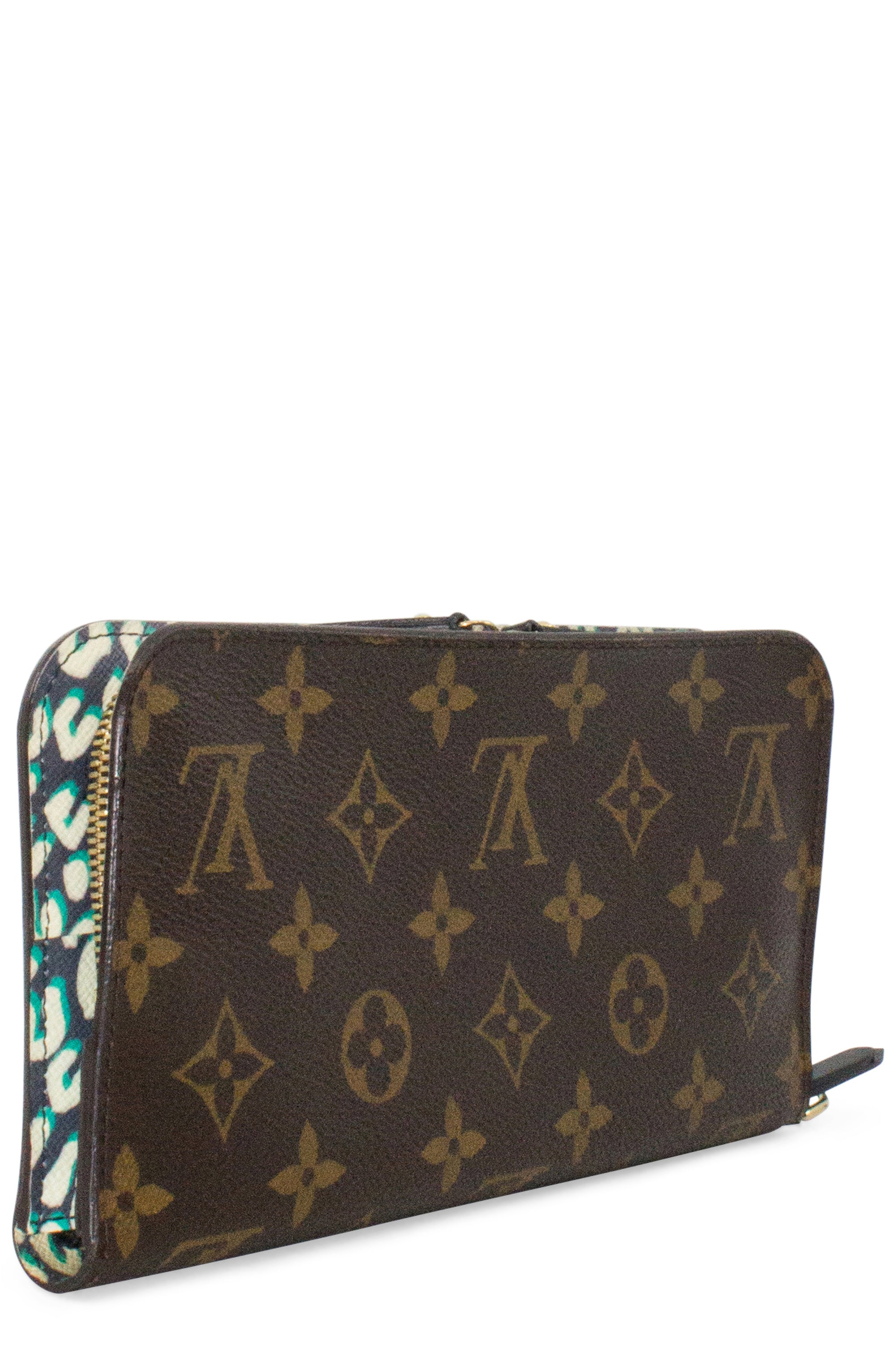 LOUIS VUITTON Wallet Insolite Leopard Interior Stephen Sprouse