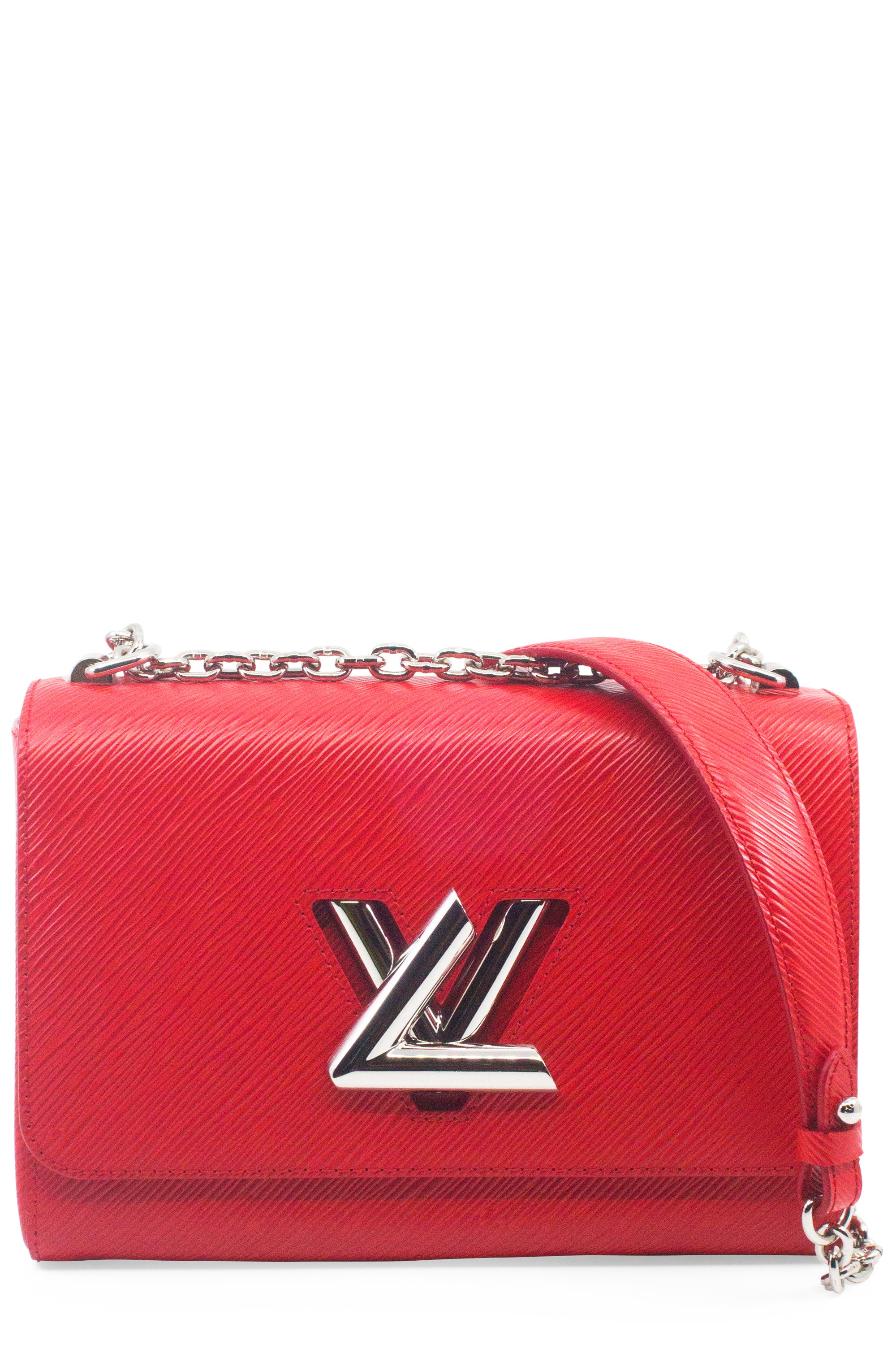 LOUIS VUITTON Twist MM Epi Red Frontansicht