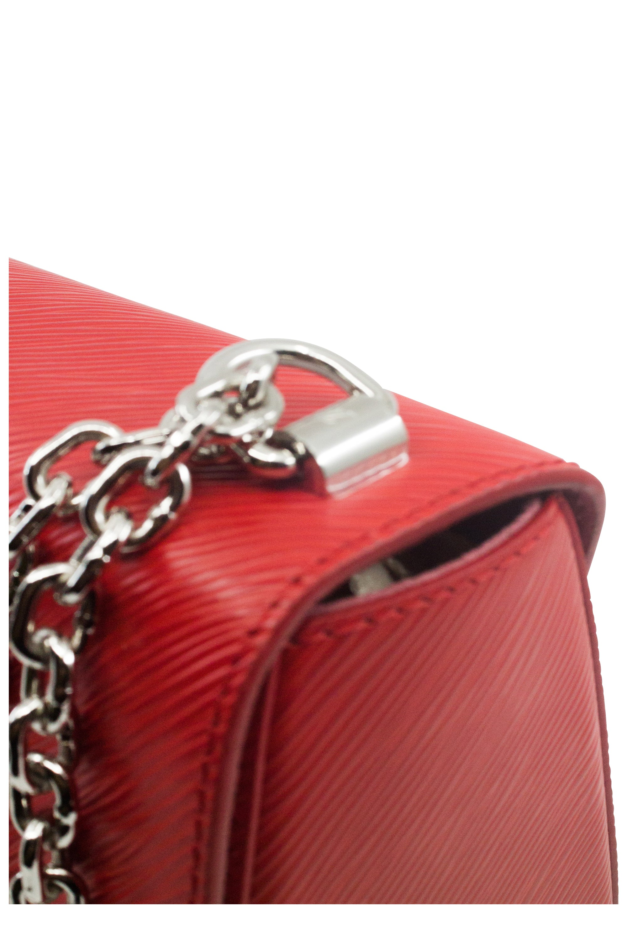 LOUIS VUITTON Twist MM Epi Red