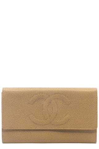 CHANEL Wallet Long Bifold