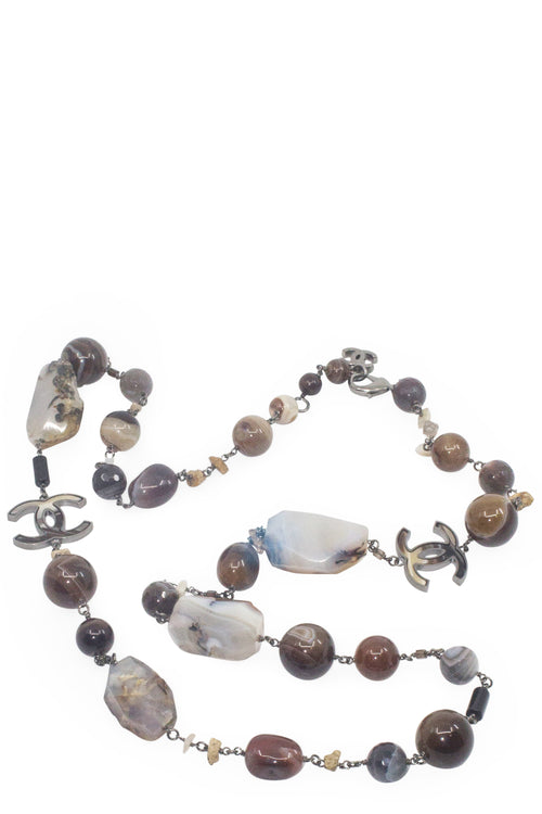 CHANEL Necklace with Stones