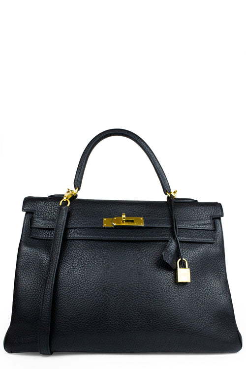 HERMÈS Kelly Bag 40 Clemence