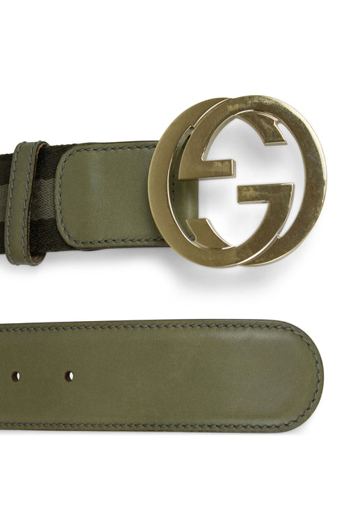 GUCCI Belt Canvas Men