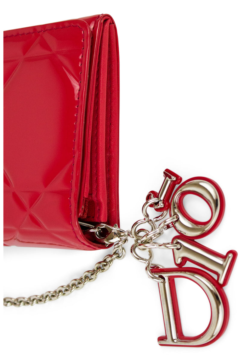 DIOR Cannage Wallet on Chain