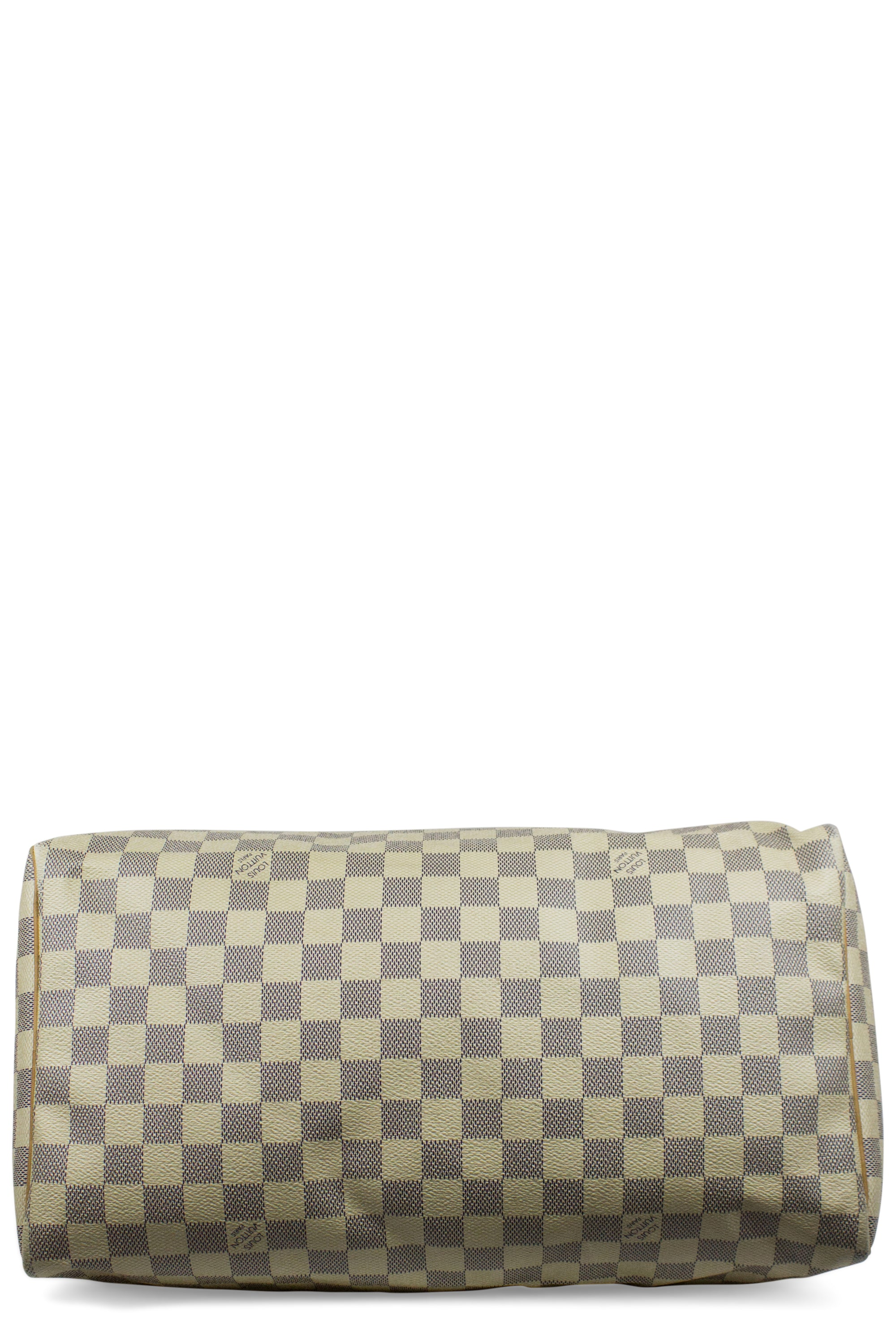 Treasure No. 7 - LOUIS VUITTON Speedy 35 Damier Azur Bag