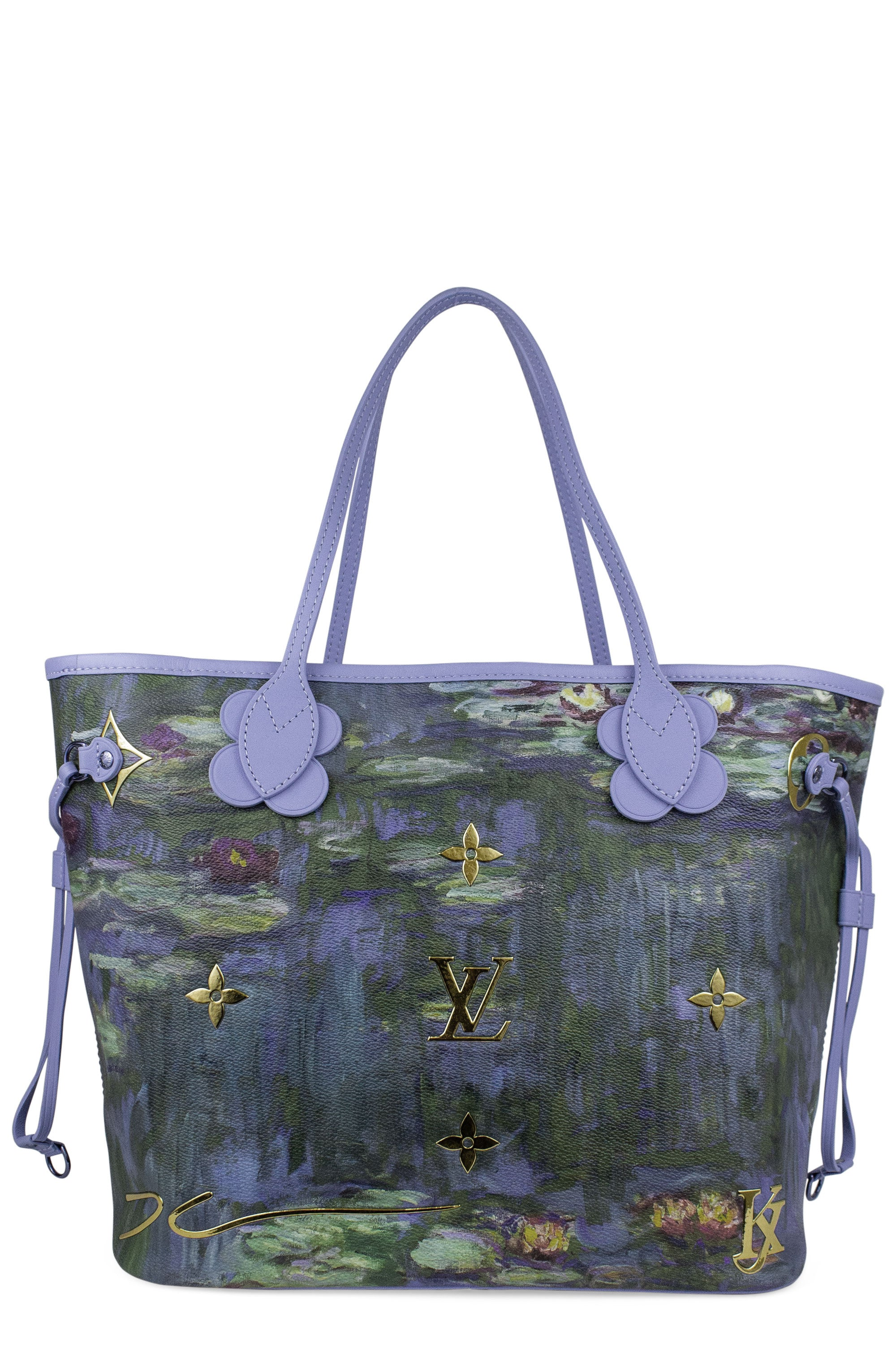 LOUIS VUITTON Neverfull Masters Jeff Monet