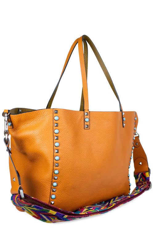 SUMMER SPECIAL #2 - VALENTINO Rockstud Reversible Native Couture Tote