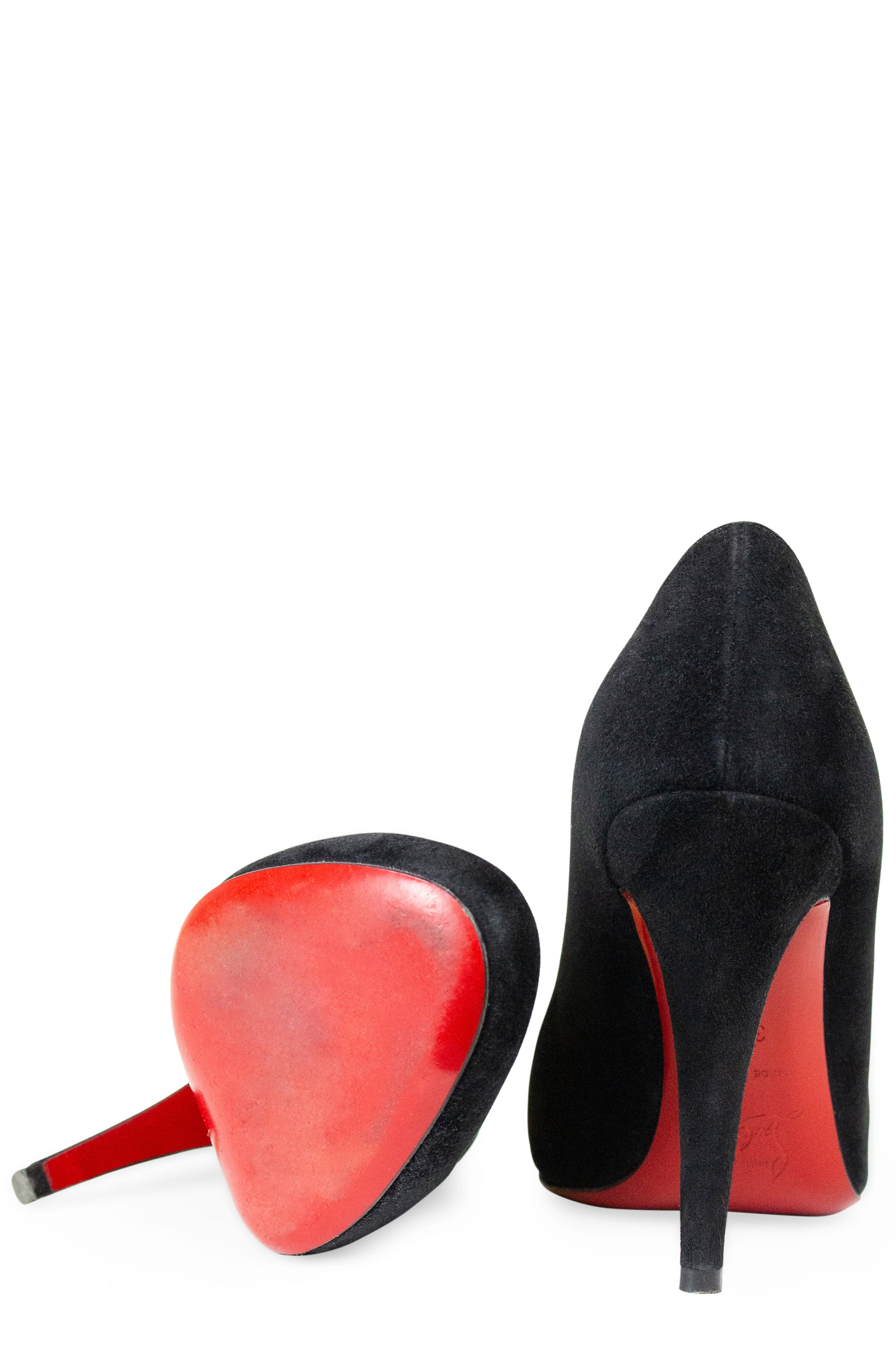 CHRISTIAN LOUBOUTIN Fifille Suede Pumps