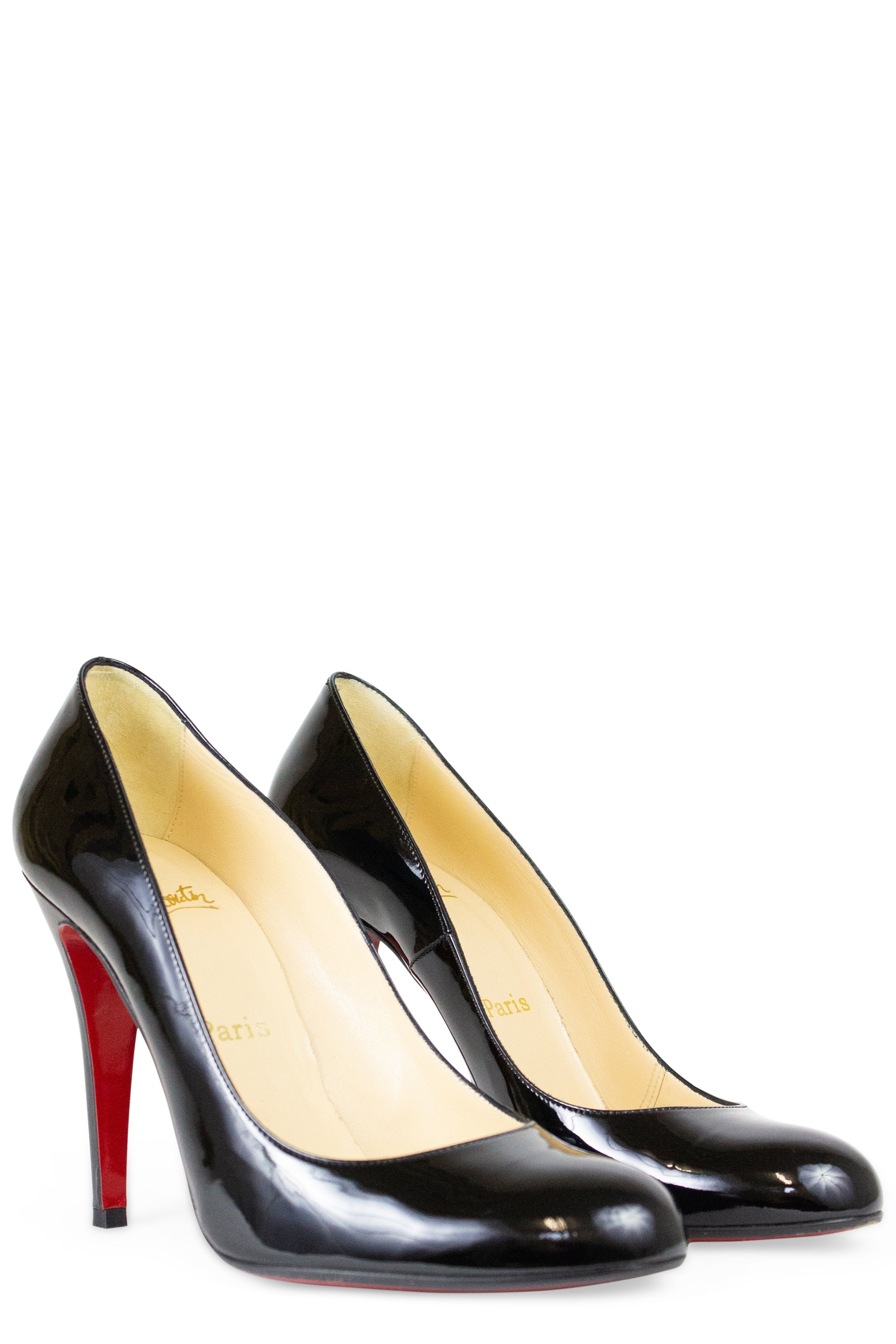 CHRISTIAN LOUBOUTIN Fifille Patent Pumps