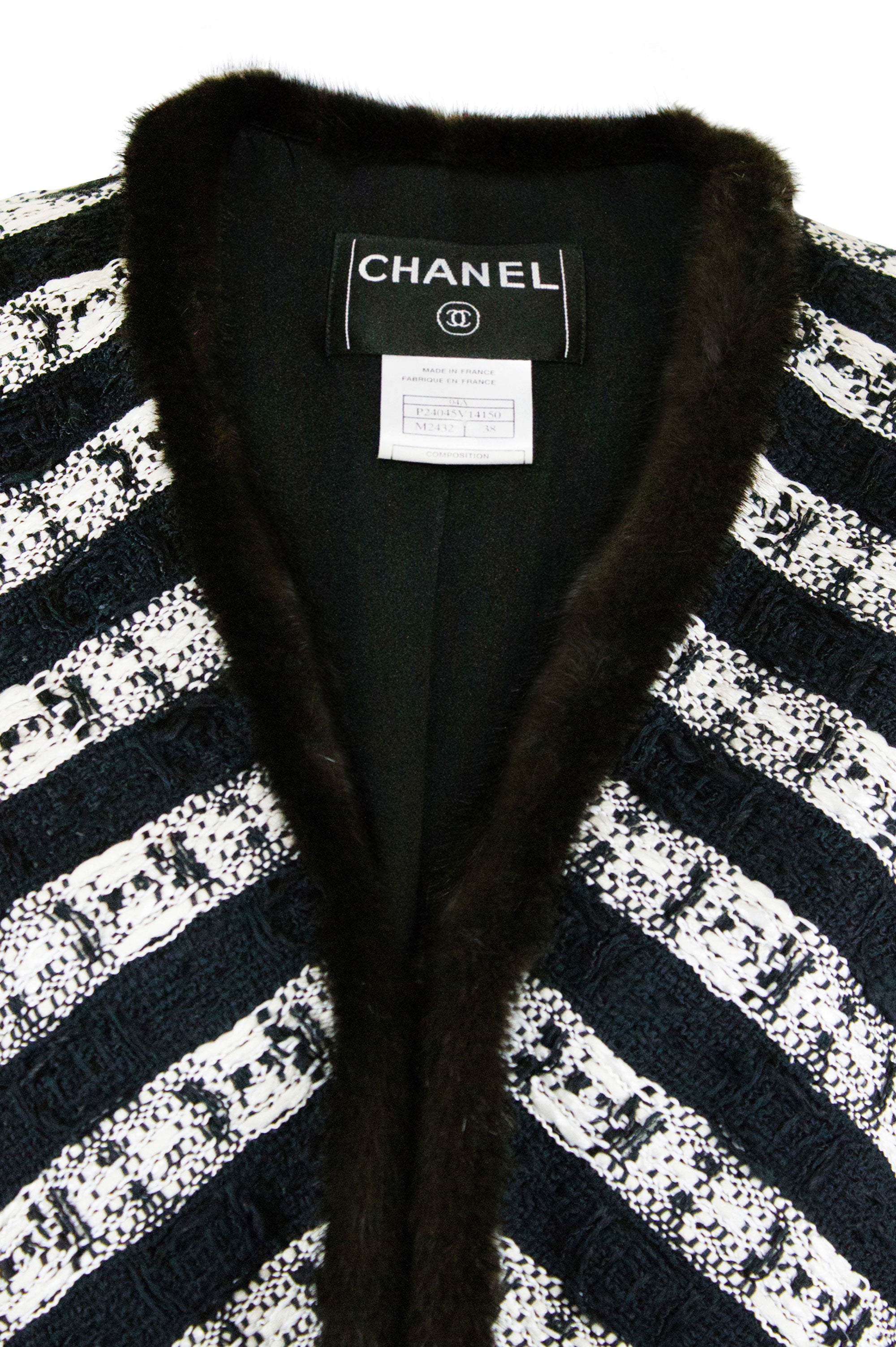 CHANEL Tweed Mantel